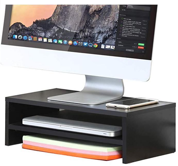 computer desk organizer/stand