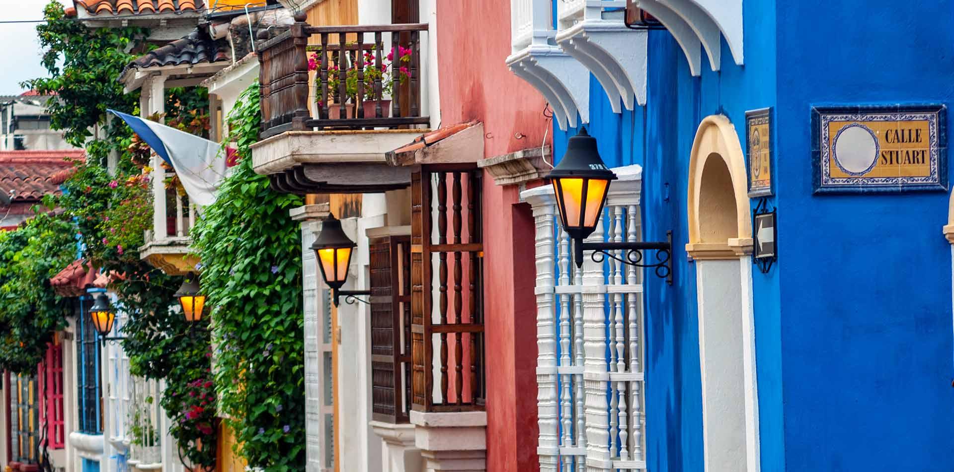 View of Cartagena de Indias, Columbia