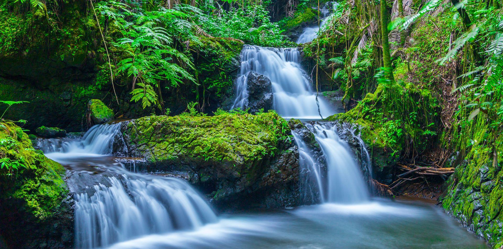 Hawaii Big Island Waterfalls