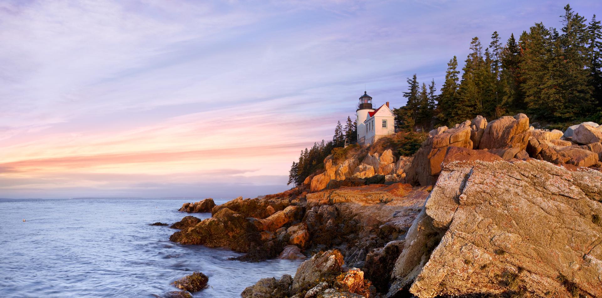 The Bass Harbor Head Light, Acadia National Park