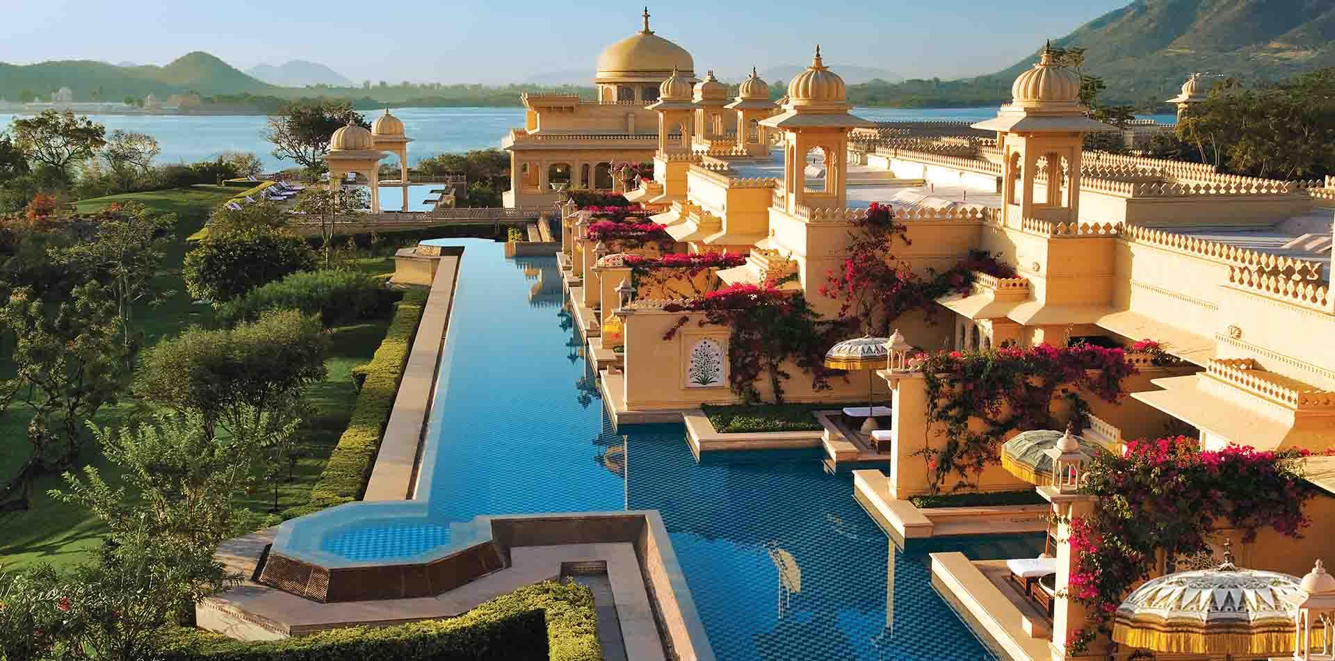 Udaivilas Hotel, India