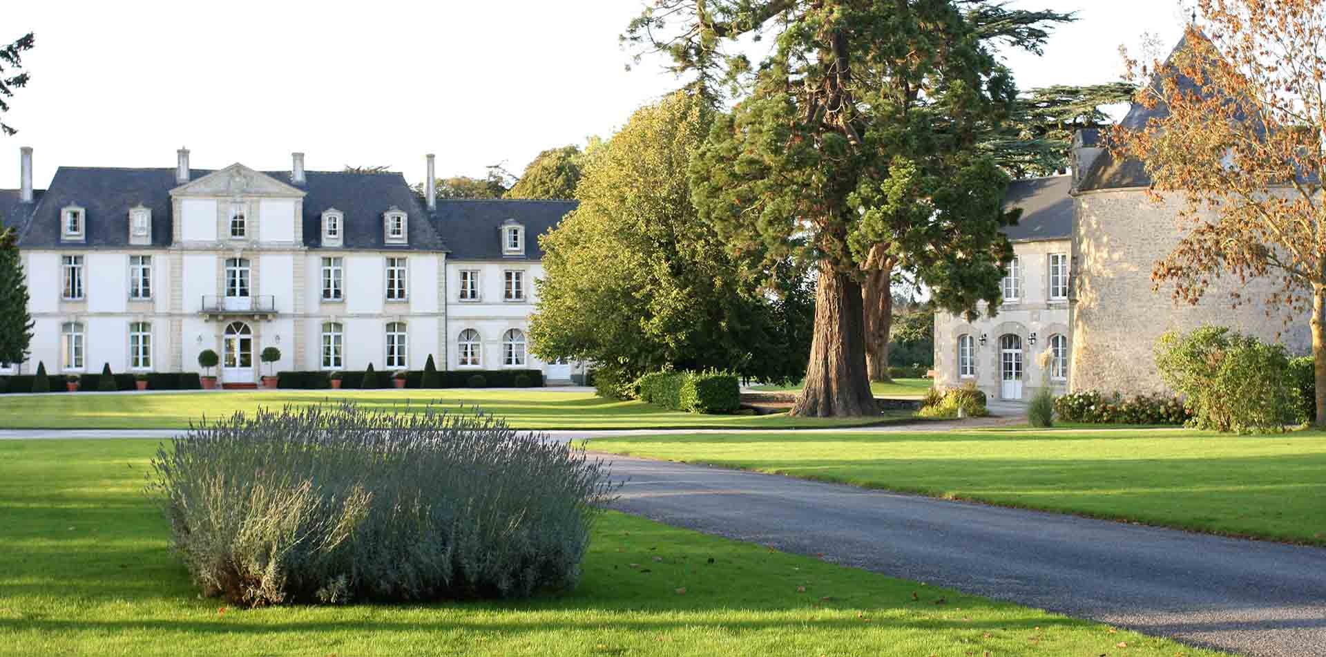 Exterior of Chateau de Sully, Normandy