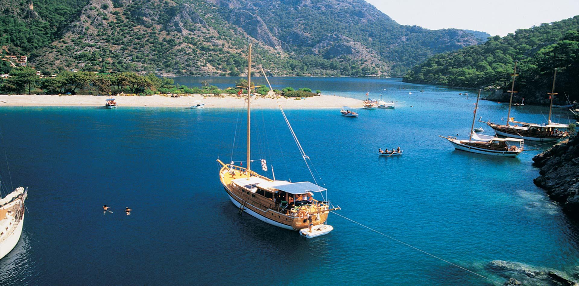 Gulet on the Water, Turkey