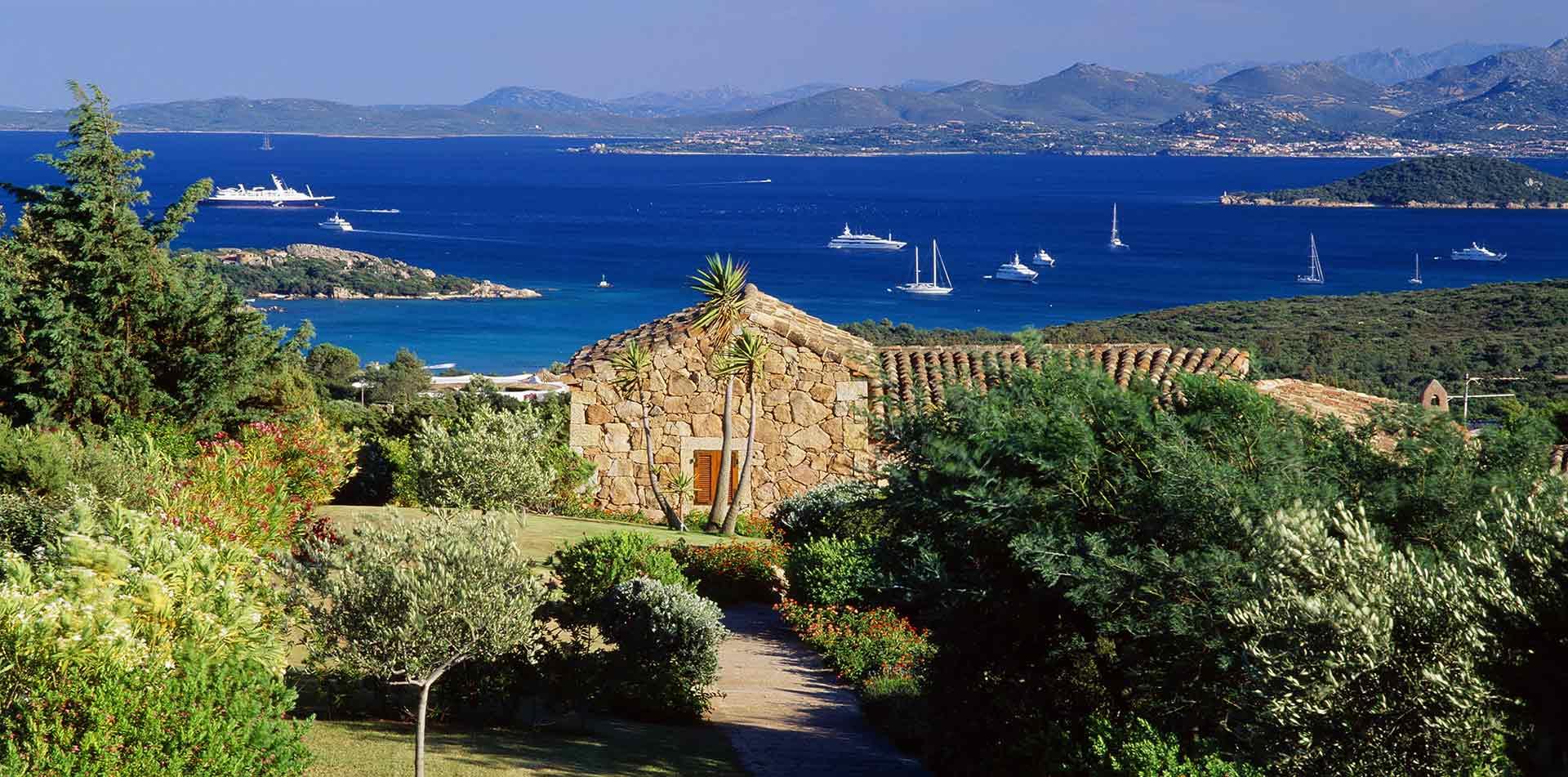 Costa Smeralda in Sardinia, Italy