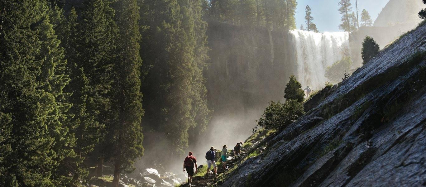 Yosemite Valley hikers