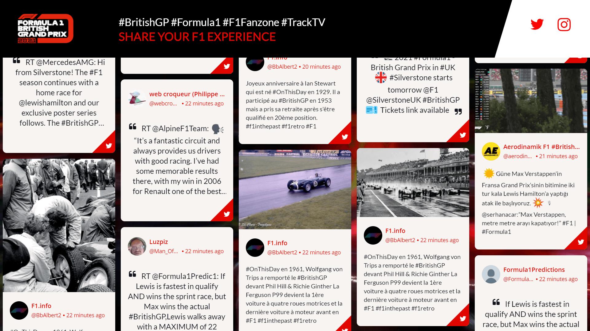 Formula 1 British Grand Prix 2021