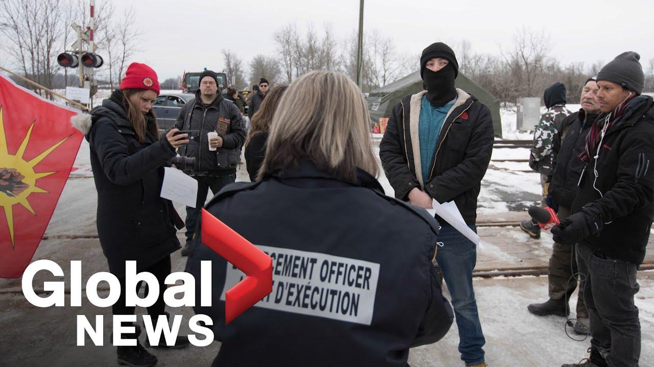 Global National: Feb. 13, 2020 | CN, Via Rail halt services amid pipeline protests