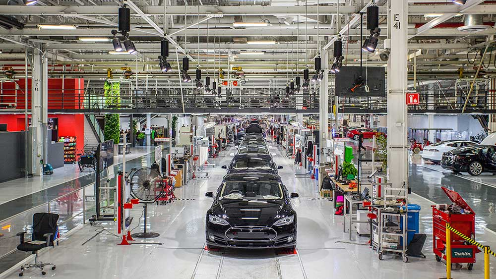 Tesla Stock Down, Production Suspended In California