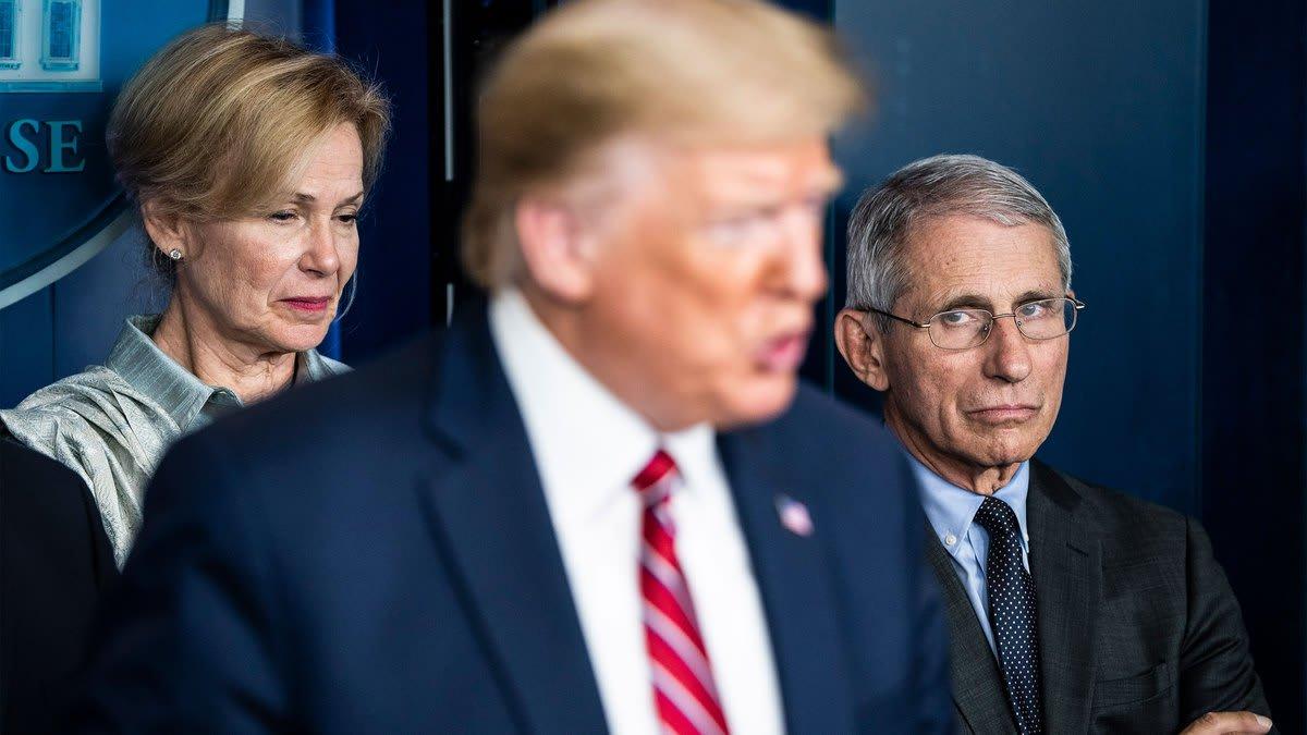 Trump's Coronavirus Task Force Increasingly Ignores Trump