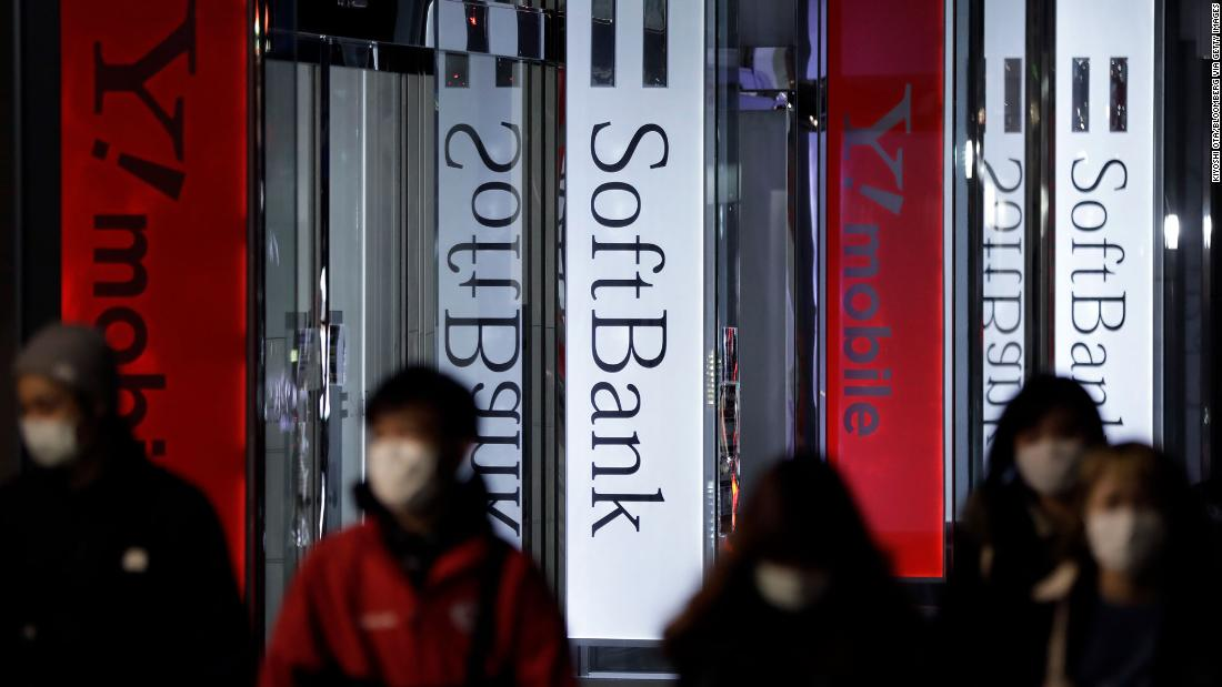 SoftBank warns of even steeper losses as it takes a $6.6 billion hit on WeWork