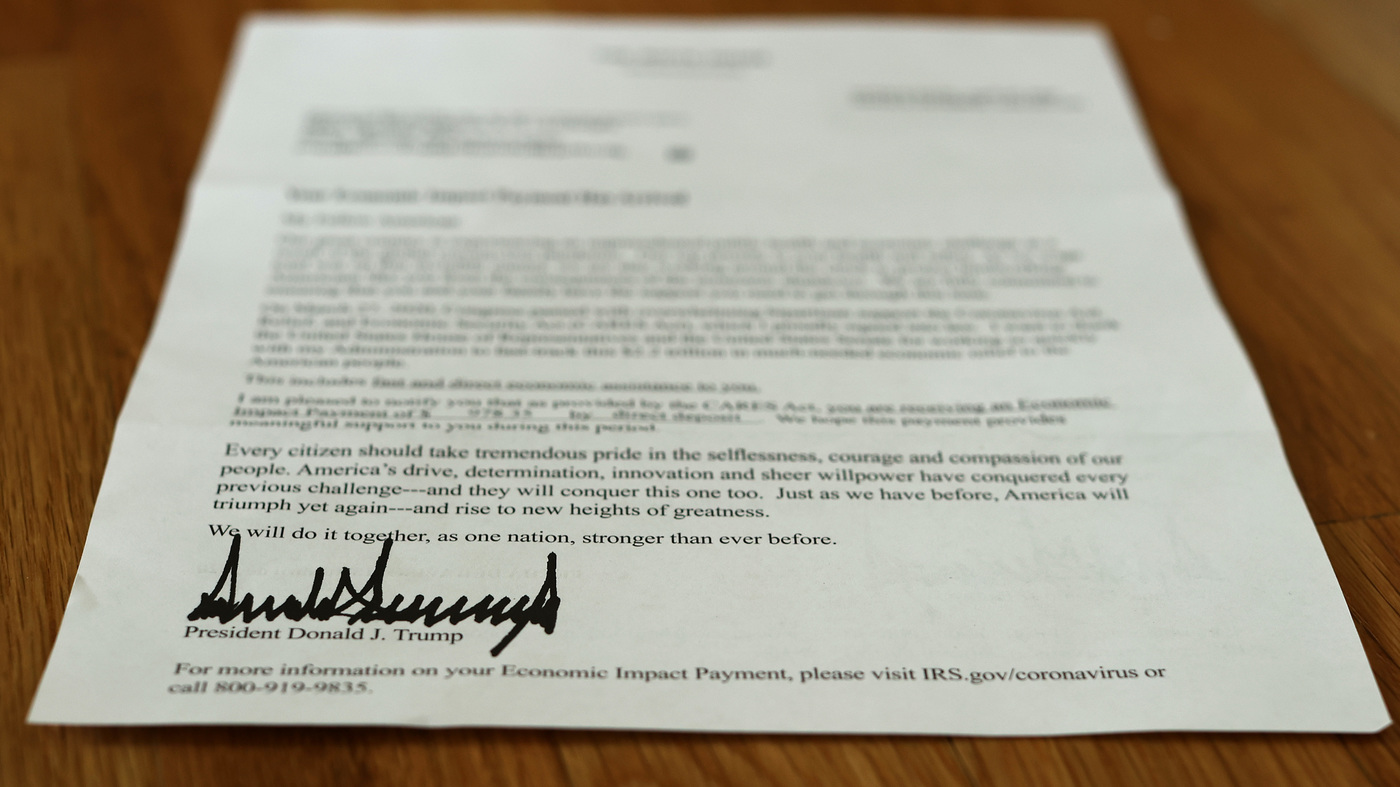 The IRS Sent Out Coronavirus Relief Payments To Dead Individuals