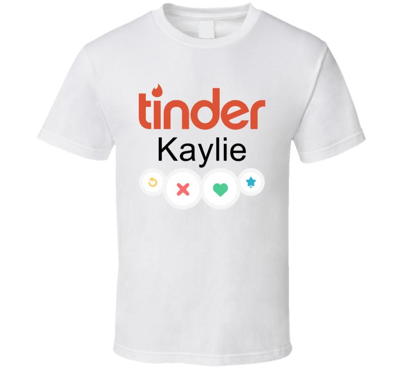 Kaylie's Tinder Profile Halloween Costume T Shirt