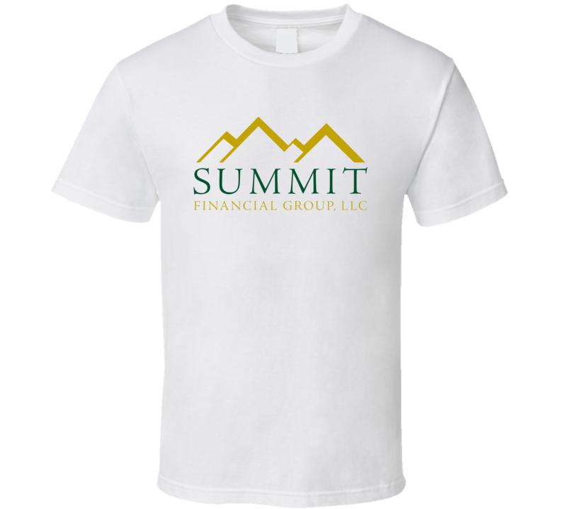 Summit Financial Group Inc Nasdaq Company Logo Employee Fan T Shirt