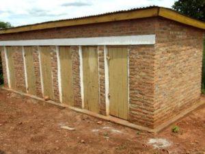 12 latrines