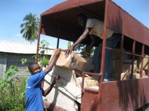 ED unloading hope packs