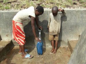 Spring Well in Marare, Uganda