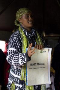 Clara Robe, FH-Kenya staff