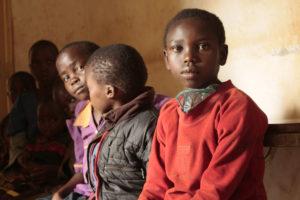 Waiting to visit the Kapchorwa health clinic