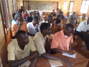 SGBV training for high school students