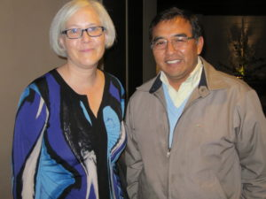 Beth Allen, External Communications Manager and Victor Cortez, Regional Director Latin America.