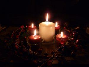 advent wreath Dec 2011