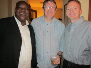 Anthony Koomson, Deputy Director Africa,  Andrew Crawford Director Gifts in Kind and Ryan Brown, Sr. Director Responder Operations