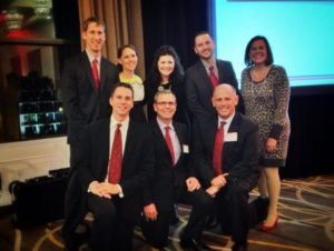 FH Staff at Blood:Water Mission Red Tie Gala