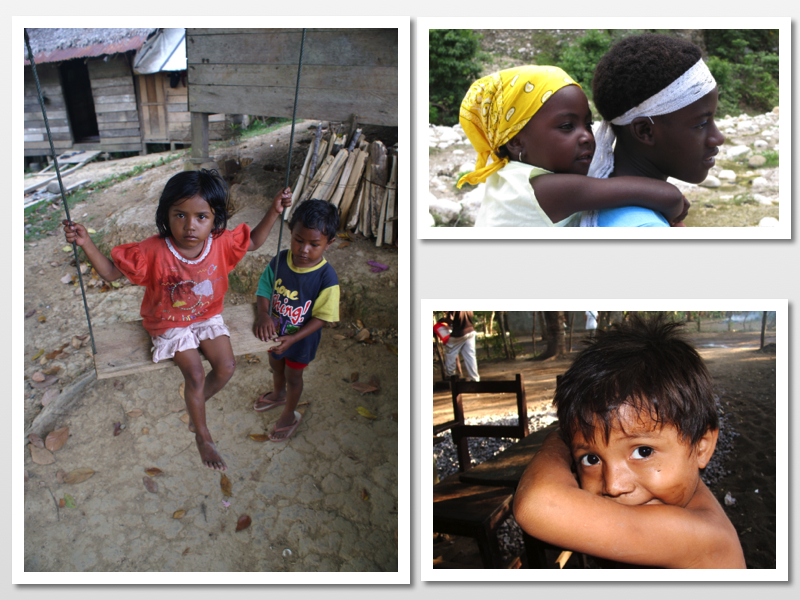 The beautiful children of the global south