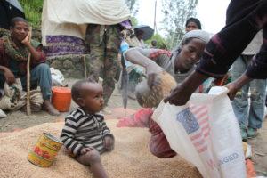 Ethiopia Grain Distribution