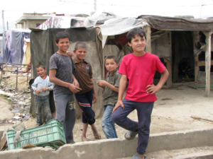 These boys, once living in a middle-class neighborhood in Syria, now face a dubious future as refugees in a foreign land.