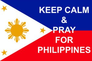 Keep Calm and Pray for Philippines