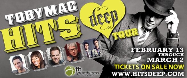 TobyMac concert flyer