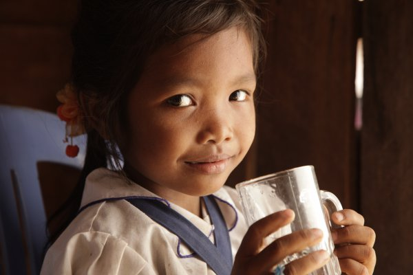 Thank you FH for bringing good water to my home in Cambodia.