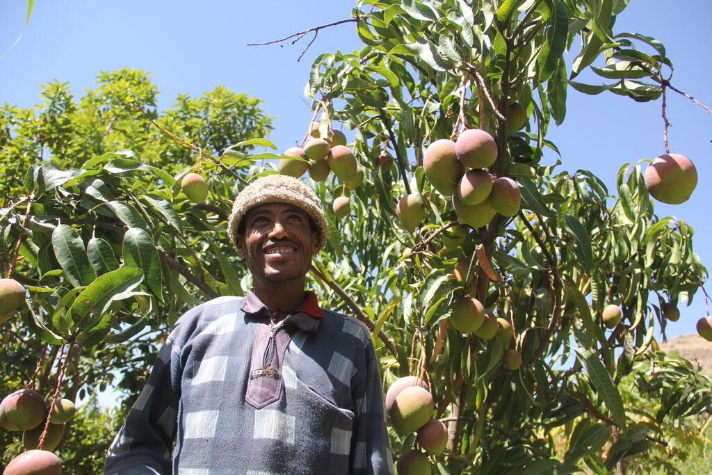 Ethiopian father Alemiye Yihun