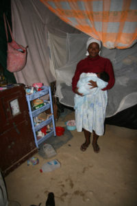 Haitian Woman and Baby