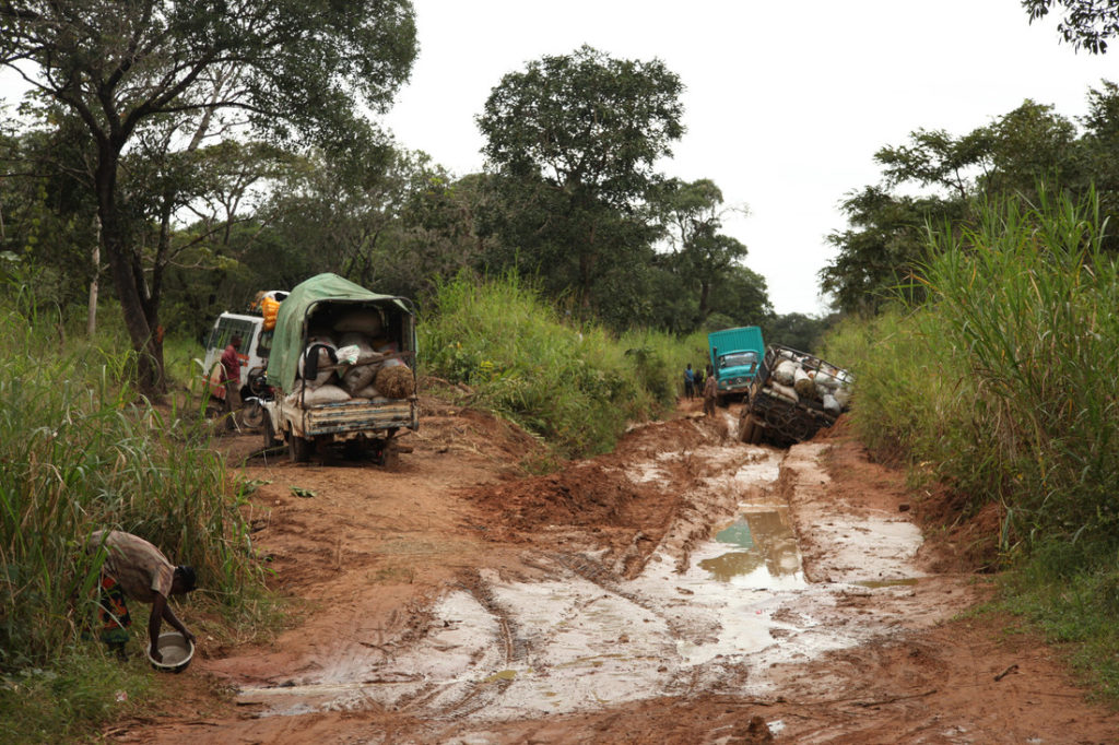 These are the kinds of roads you must travel to reach many of the world's most vulnerable people around the world.