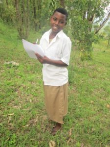 Thanks to a caring sponsor, girls like Alice can realize their dreams. She plans to become a doctor