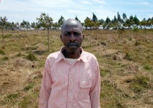 Barhabula Ngwarhiro Ntondero is the president of the Nkaga Village Reforestation Management Committee.
