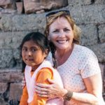 Meg Meeker with Bolivian girl