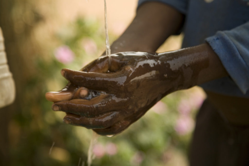 Water is a key issue for survival around the world.