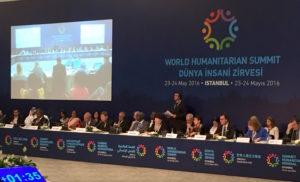 leaders at the world humanitarian summit.