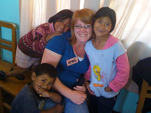 New friends during short-term mission trip to Bolivia