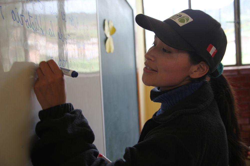 Teacher in Peru