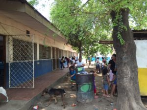 The environment in El Limonal, Nicaragua