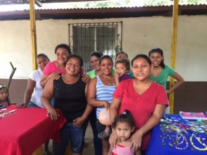 Families are benefitting from clean up the environment in El Limonal, Nicaragua