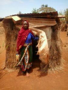 Toilet latrine in Kenya