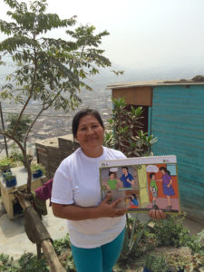 Catalina participated in the Cascade Group Violence Prevention and Parenting Skills Project that FH started in her community. She then went on to teach other mothers about non-violence.