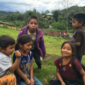 Kids in Guatemala With Advice On Building a Kayhole Garden