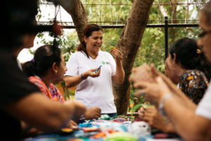 FH Nicaragua - Teaching other women.