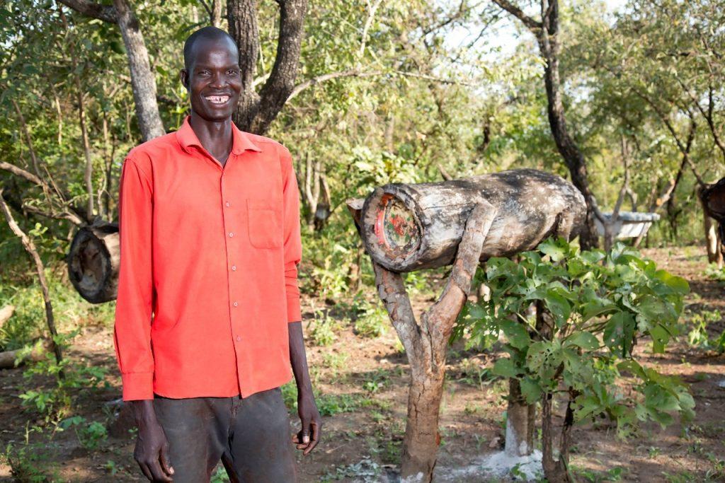 Uganda farmer Okello Jovine